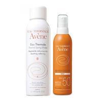 Avene набор спрей солнцезащитный SPF50+ 200 мл+вода термальная 150 мл 1 уп.