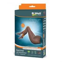 B.Well Колготки компрессионные для беременных прозрачные II класс компрессии JW-327 5 Natural