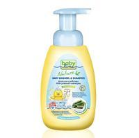 Babyline средство для купания и шампунь с морскими водорослями для детей с первых дней жизни 260 мл