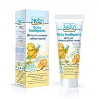 Babyline зубная паста со вкусом апельсина гелевая от 2-10 лет 75 мл