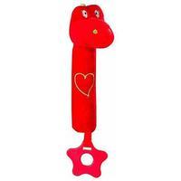 BabyOno игрушка-пищалка Сердечко дино 1 шт.