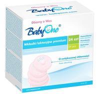 BabyOno вкладыши для бюстгальтера Premium 24 шт.