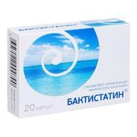 Бактистатин капсулы, 20 шт.