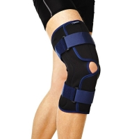 Бандаж на колено Орлетт с полицентрическими шарнирами разъемный RKN-203 разм. L 1 шт.
