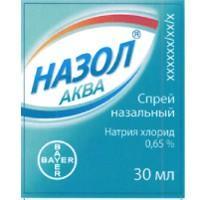 Назол аква спрей 0.65%, 30 мл