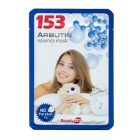 Beauty 153 Тканевая маска для лица с арбутином 1шт