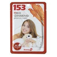Beauty 153 Тканевая маска для лица с экстрактом красного женьшеня 1шт