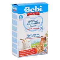 Bebi Premium каша гречневая на козьем молоке с пребиотиками 5 мес. 200 г