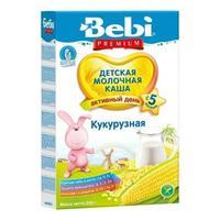 Bebi Premium каша молочная кукурузная 5 мес. 200 г