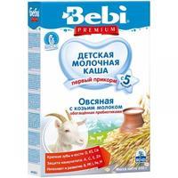 Bebi Premium каша овсяная на козьем молоке с пребиотиками 5 мес. 200 г