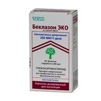 Беклазон эко легкое дыхание аэрозоль для ингаляций 100 мкг/доза, 200 доз