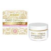 BelKosmex Gold Collagen крем дневной защитный 48 г