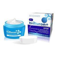 BelKosmex HIALURON+ 50+ Крем интенсивное увлажнение и разглаживание глубоких морщин для всех типов кожи 48г