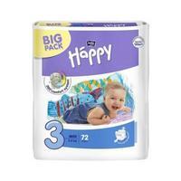 Bella Подгузники Baby Happy 3 midi 5-9 кг BIG PACK 72 шт.