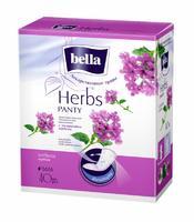 Bella Прокладки Panty Herbs verbena с экстрактом вербены ежедневные 40 шт.