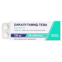 Бикалутамид-Тева таблетки покрыт.плен.об. 150 мг 28 шт.