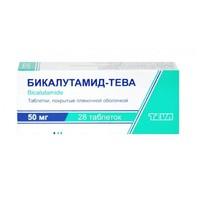 Бикалутамид-Тева таблетки покрыт.плен.об. 50 мг 28 шт.