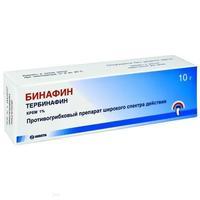 Бинафин крем 1%, 10 г