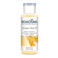 Biokosma масло массажное для тела Пшеничное 125 мл