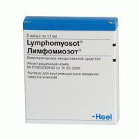 Лимфомиозот р-р в/м введ. гомеопат. амп. 1,1 мл №5