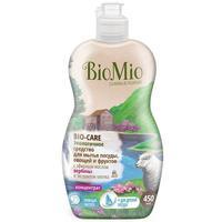 BioMio Bio-Care Экологичное средство для мытья посуды, овощей и фруктов с эфирным маслом вербены 450 мл