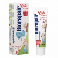 Biorepair Зубная паста Kids детская со вкусом клубники от 0-6 лет 50 мл