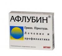 Афлубин таб подъязычные гомеопат №24 блист
