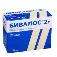 Бивалос пакетики 2 г, 28 шт.