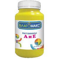 Благомакс Витамины А и Е капсулы 0,3 г 90 шт.