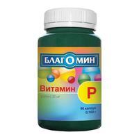 Благомин Витамин Р капсулы 30 мг, 30 шт.