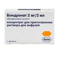 Бондронат ампулы 2 мг, 2 мл, 1 шт.