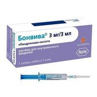 Бонвива шприц 1 мг/мл, 3 мл