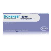 Бонвива таблетки 150 мг, 1 шт.