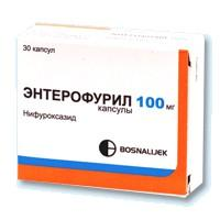 Энтерофурил капсулы 100 мг, 30 шт.