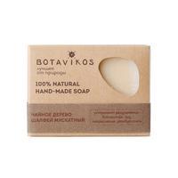 Botavikos Натуральное мыло ручной работы чайное дерево,шалфей мускатный 100 г