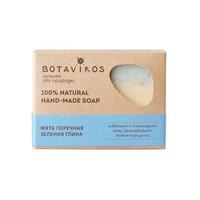 Botavikos Натуральное мыло ручной работы мята перечная, зеленая глина 100 г