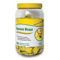Бронхо Веда леденцы травяные со вкусом лимона 200 шт.