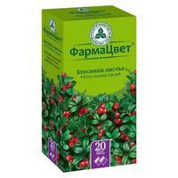 Брусники листья фильтрпакетики 1,5 г, 20 шт.