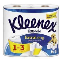 Бумага туалетная Kleenex Экстра Лонг двухслойная 4 шт.
