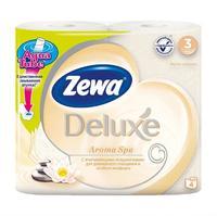 Бумага туалетная Zewa Делюкс трехслойная Аромаспа 4 шт.
