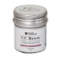 CC Brow Хна для бровей в баночке светло-коричневый 10 г