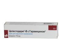 Целестодерм в с гарамицином крем 0.1%, 30 г