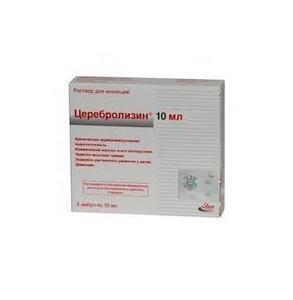 Церебролизин 10мл р-р д/инъекций амп. х5 (r)