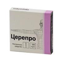 Церепро р-р для в/вен. и в/мыш. введ. 250 мг/мл 4 мл ампулы 3 шт.
