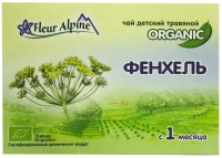 Чай Флер Альпин (Fleur Alpine) травяной Органик Фенхель с 1 мес. 20 шт. упак.