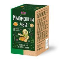 Чай имбирный Bio National зеленый с апельсином фильтропакетики 20 шт.