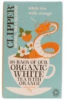 Чай Клиппер(Clipper) Белый с апельсином Органик фильтпакетики 26 шт. упак.