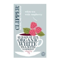 Чай Клиппер(Clipper) Белый с малиной Органик фильтпакетики 26 шт. упак.