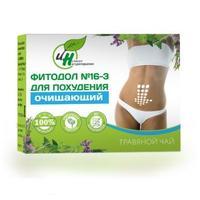 Чай травяной Натуротерапия Фитодол 6-3 Для похудения – очищающий 60 х 2 г
