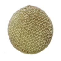 Чеширка Мочалка №75 овал,сизаль 21.5X18Х11